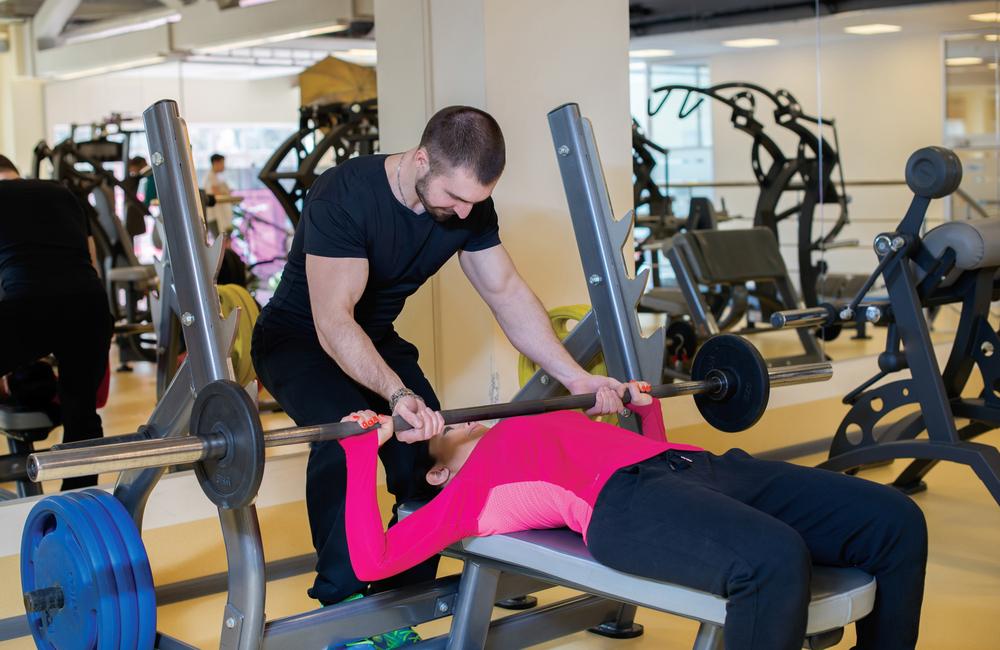why having a gym partner
