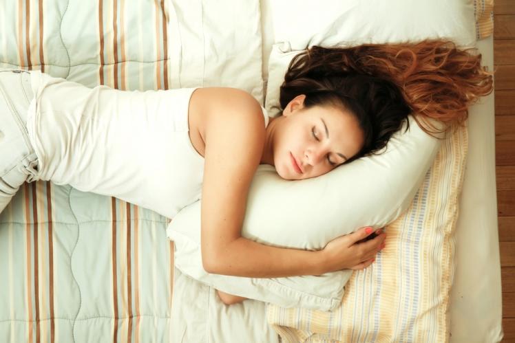 Reflux sleeping on side
