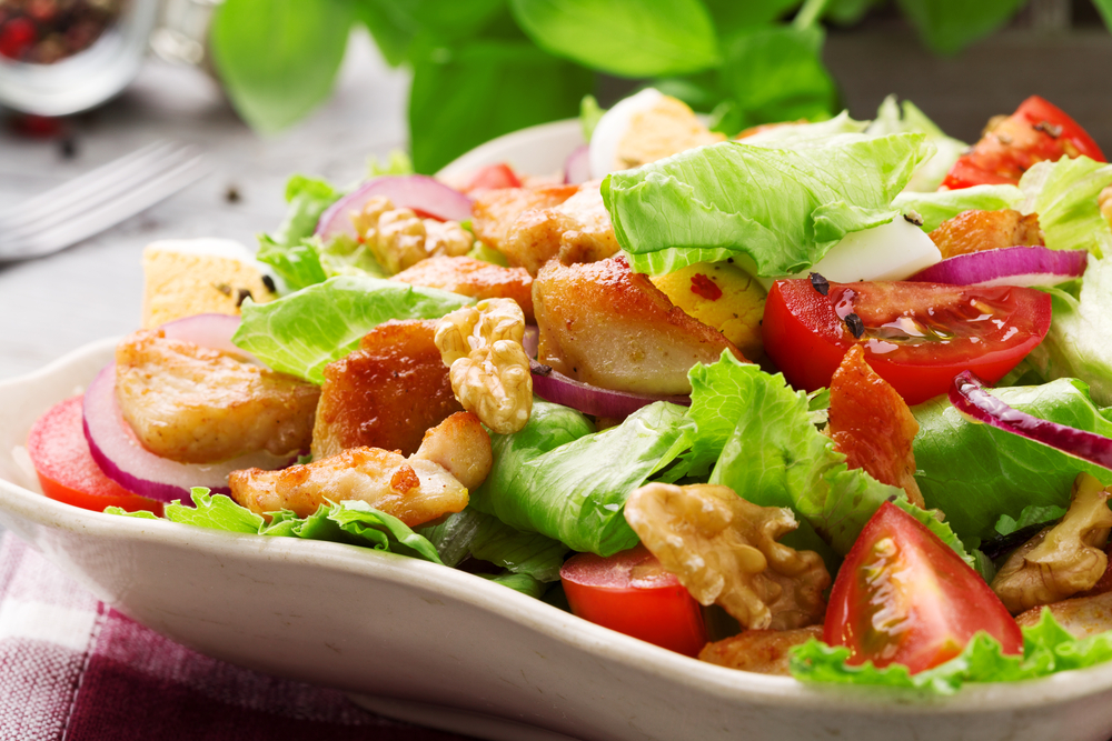 Have your sandwich filling on a salad to To Cut 500 Calories A Day