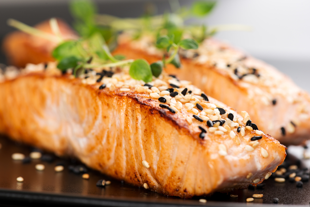 Salmon is one of the best Foods You Can Eat Before Bed on a Diet