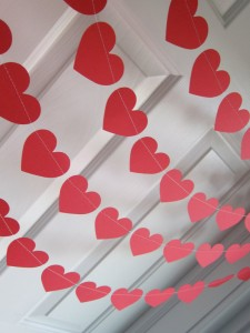 Make a Heart Garland