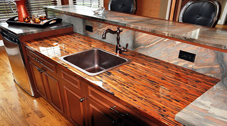 Our 8 favorite kitchen countertop materials reliable for Types of kitchen counters