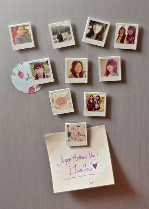 Mini Photo Magnets