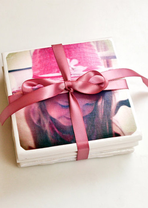 Tile Photo Coasters