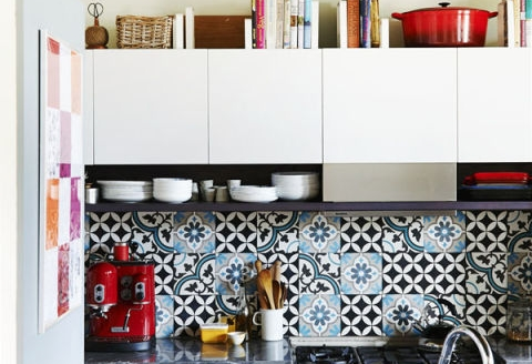 6 Decorating Ideas for Above Kitchen Cabinets