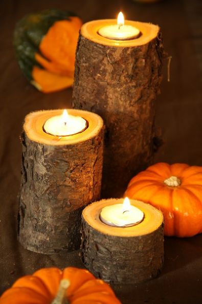 Bark Candle