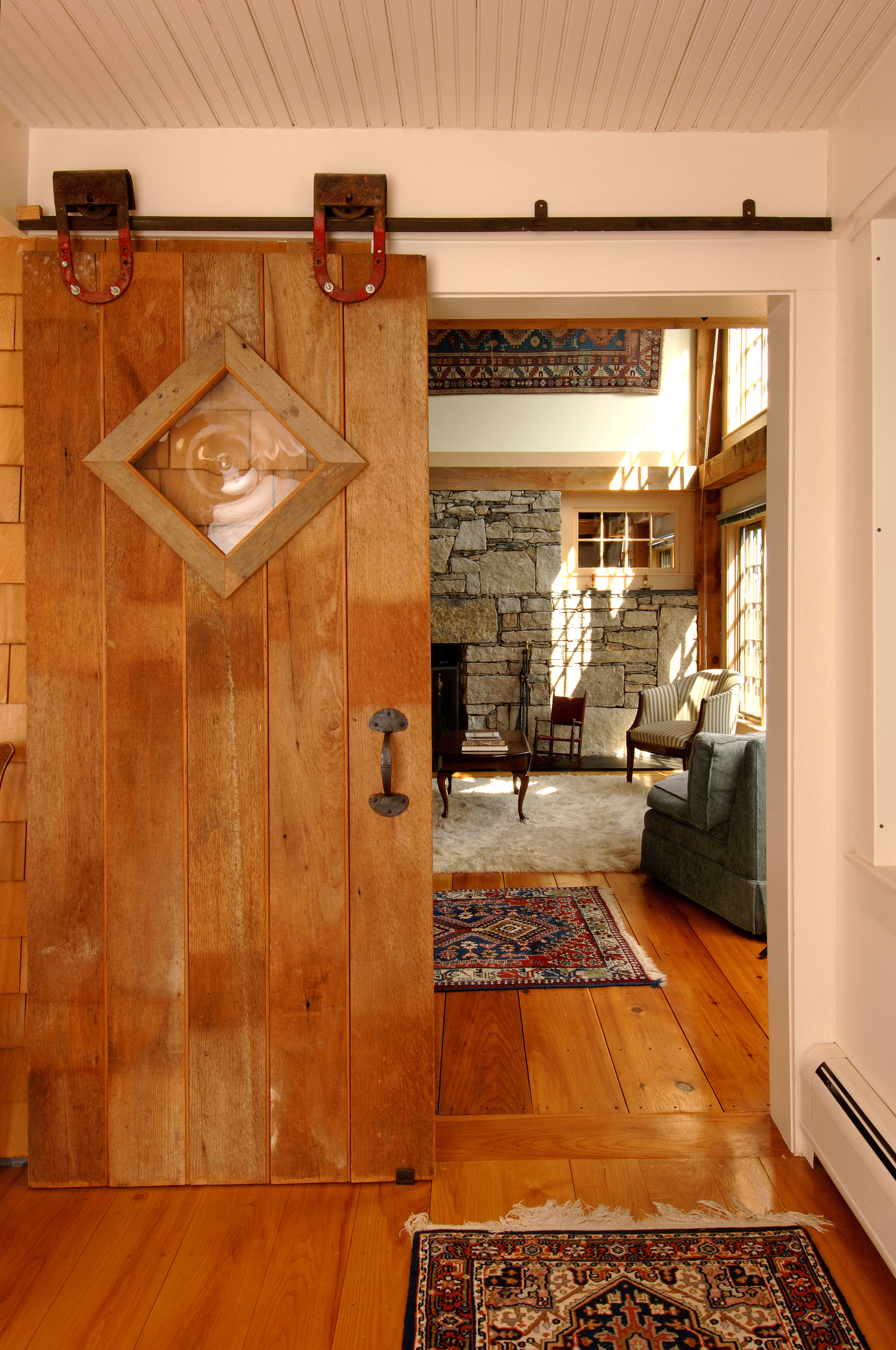 how to make a rustic sliding barn door for your home reliable remodeler. Black Bedroom Furniture Sets. Home Design Ideas