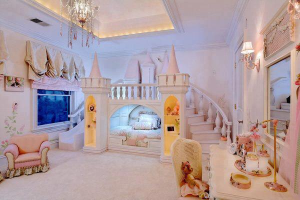 fairy tale bedroom