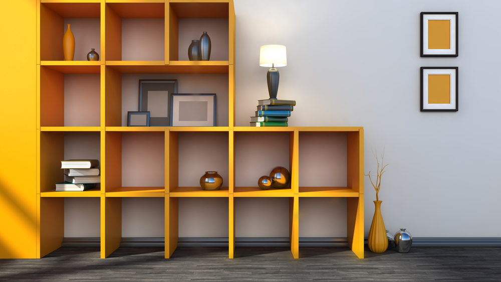 Build your own stackable wall shelves