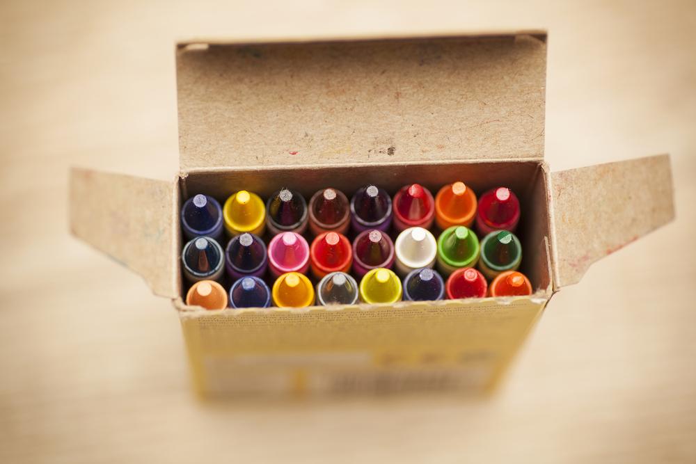Erase Crayon Markings