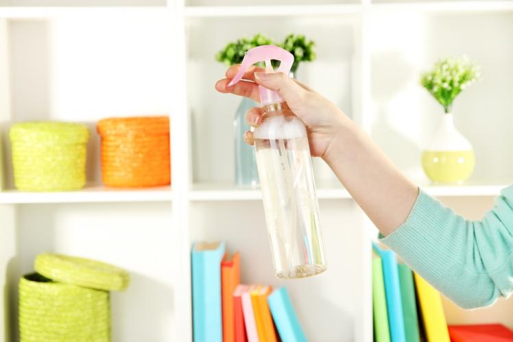 Mix your own deodorizing spray