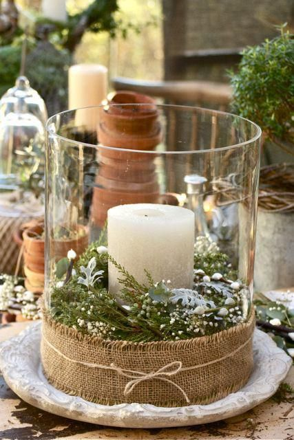 The Rustic Holiday Centerpiece