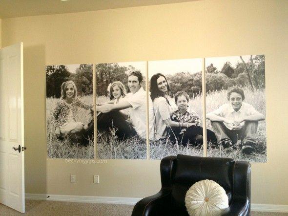 Hang Photo Wall Art