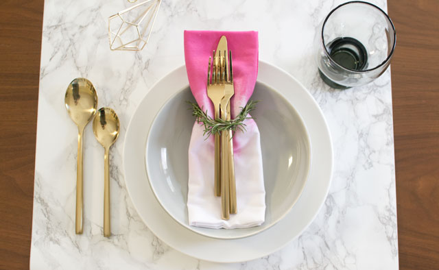 Personalize Your Napkins