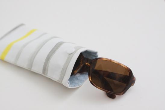 Stich a Homemade Glasses Case
