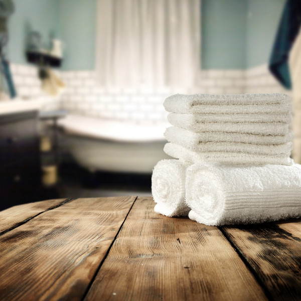 Crisp New Towels