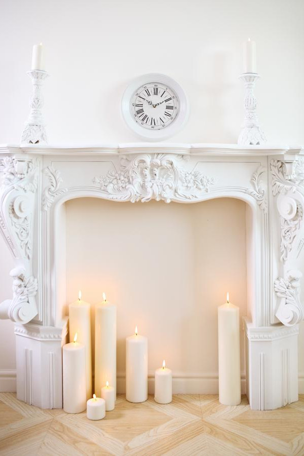 Empty Fireplace