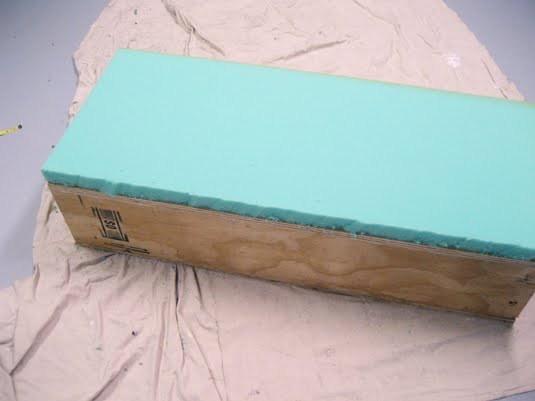 Upholster the base