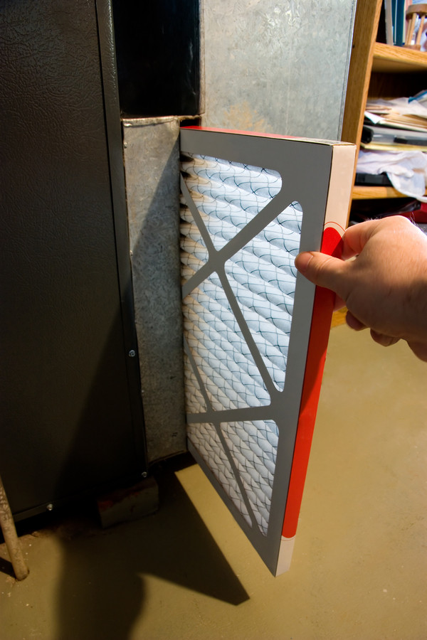 Change furnace filter and check Dryer vent