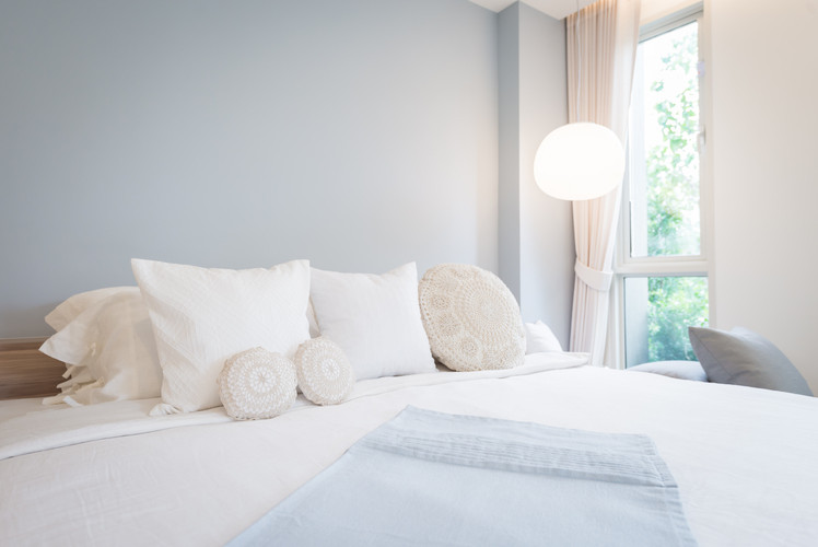 Switch up your bedding and pillows