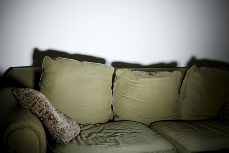 Worn Sofas