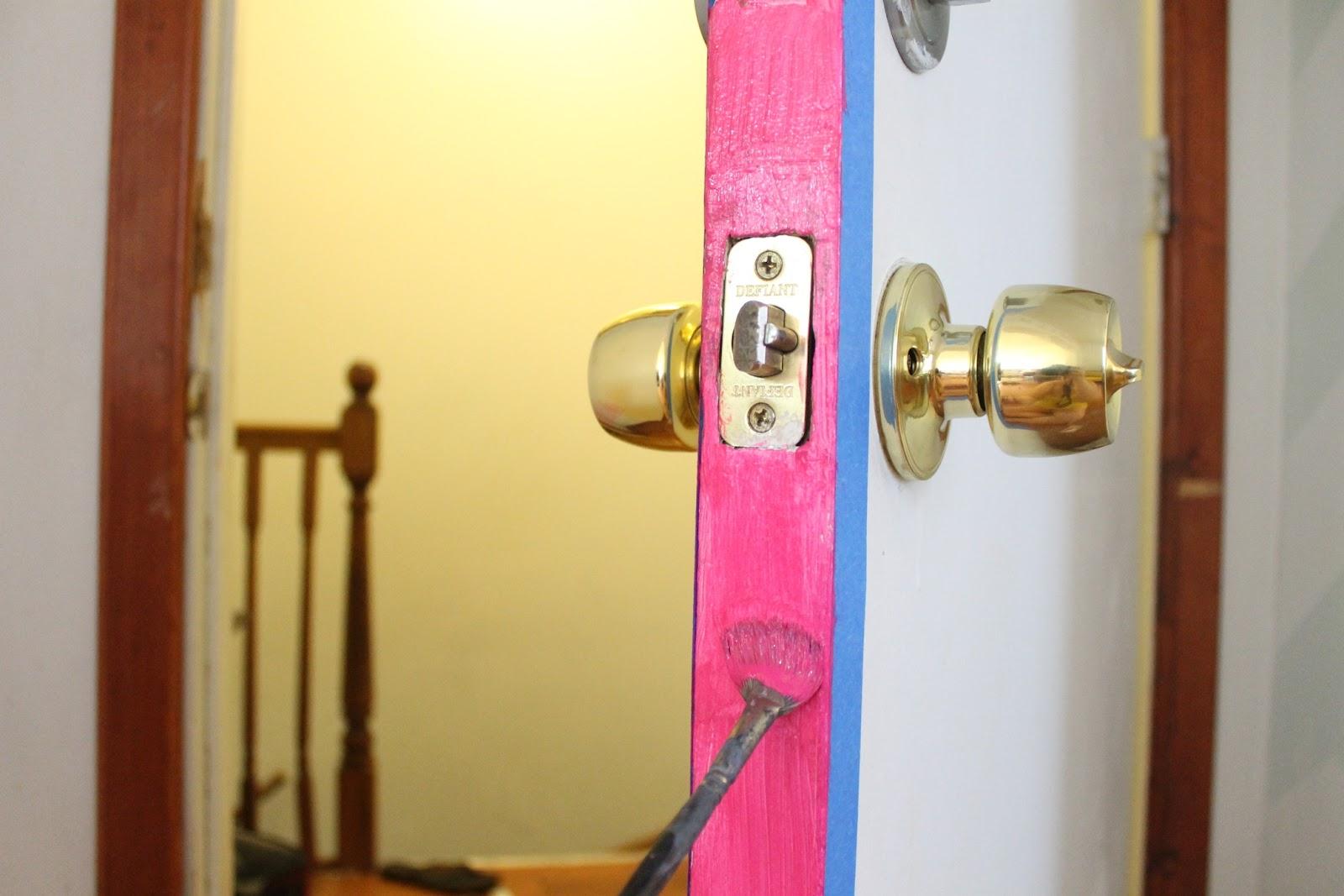Paint the side of your door