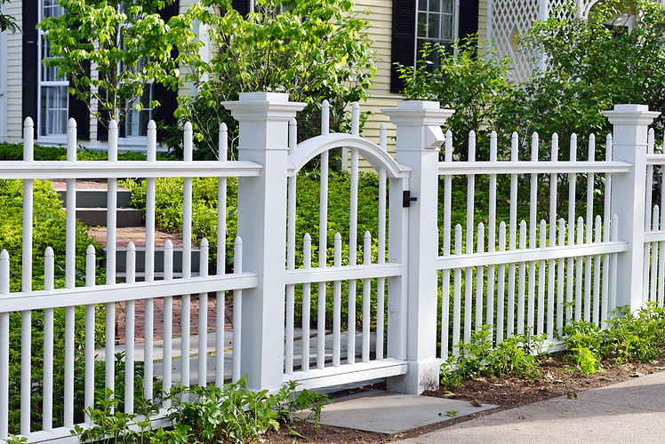 build a fence to define your space