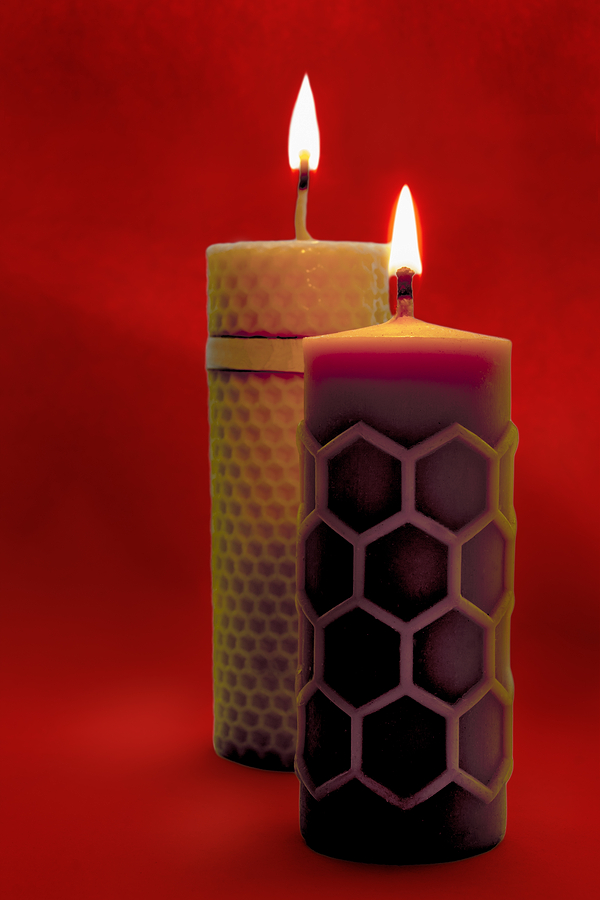 burn candles