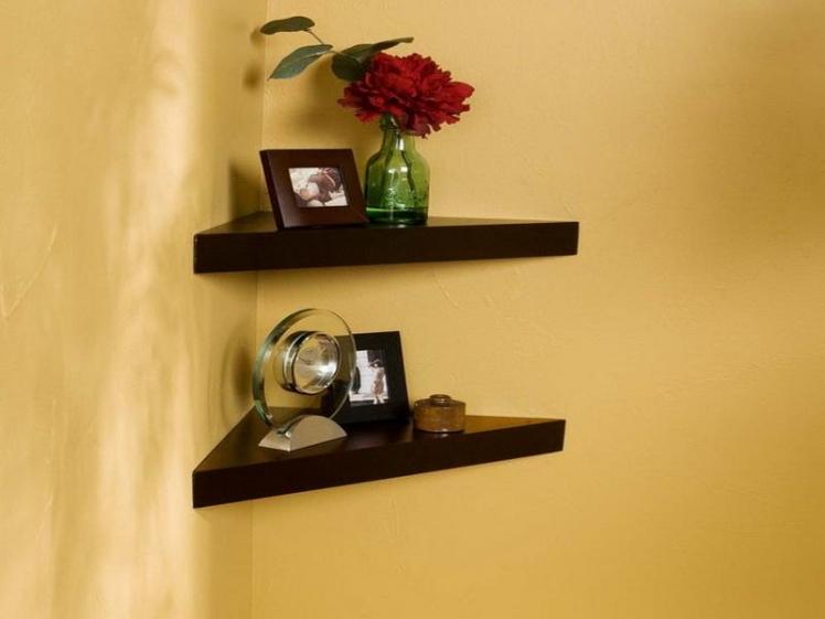 adding corner shelves