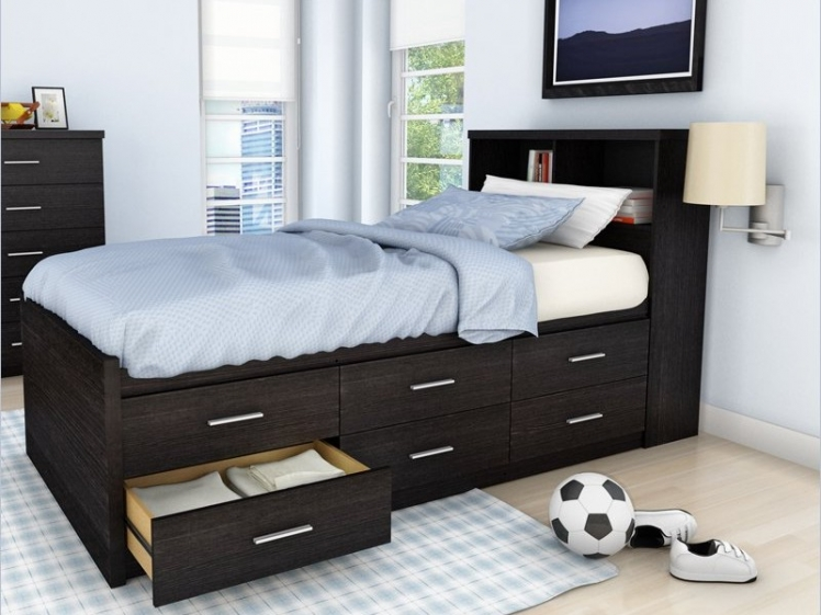 drawers built in to your bed