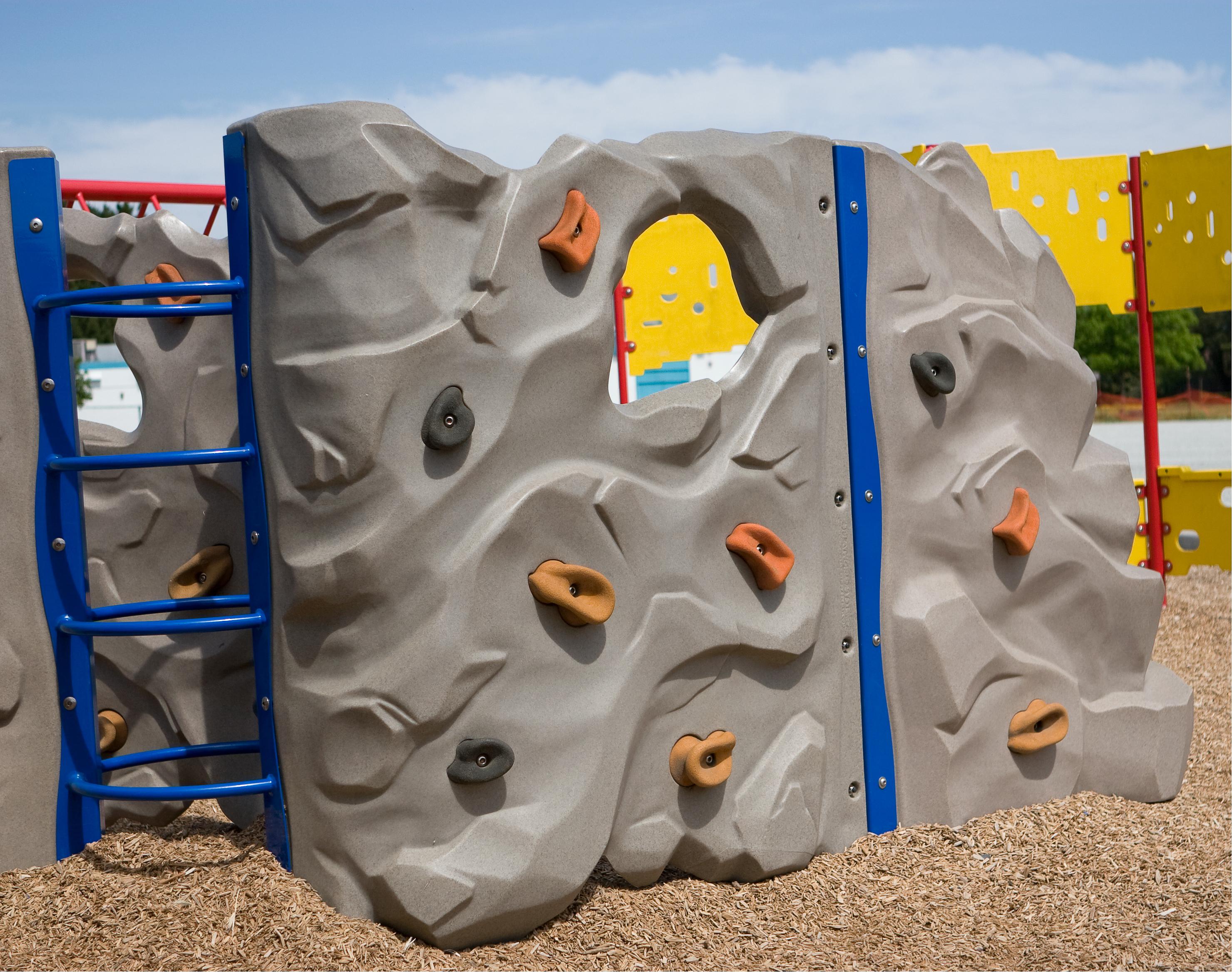 Make a climbing wall