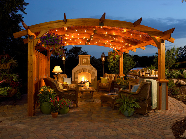 light up your garden party with fairy lights for a relaxed vibe