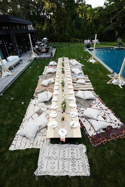 Relaxation is Key to a chilled garden party