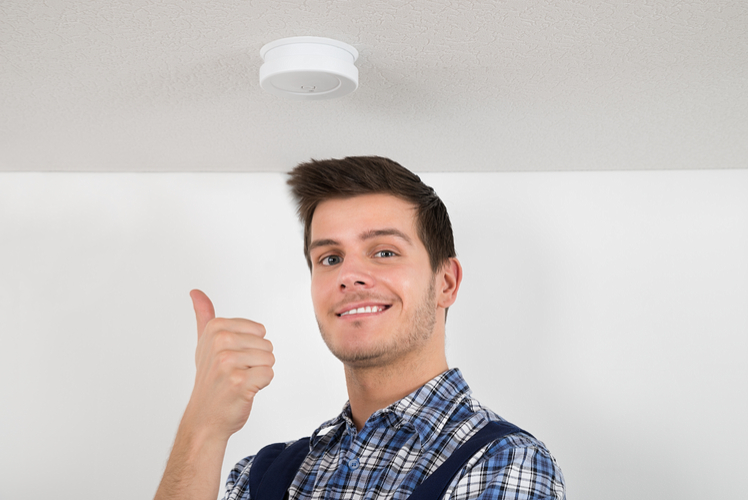 check carbon monoxide detectors