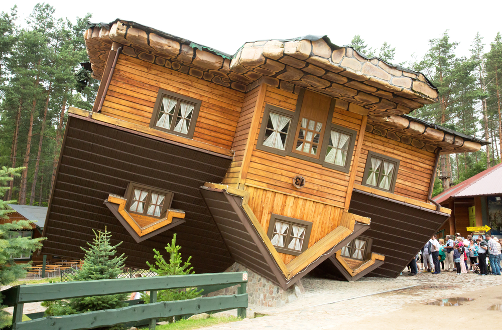 #2 Upside Down House, Poland