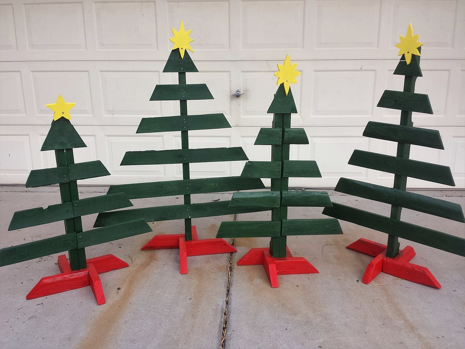 #1 Pallet Wood Christmas Trees