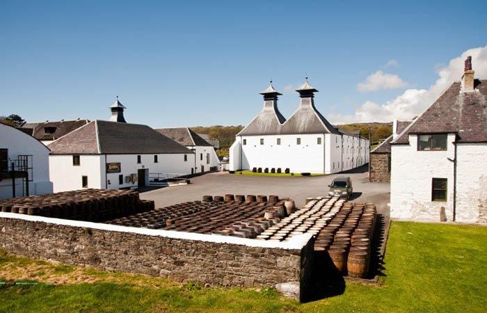 Whiskey tour of Islay