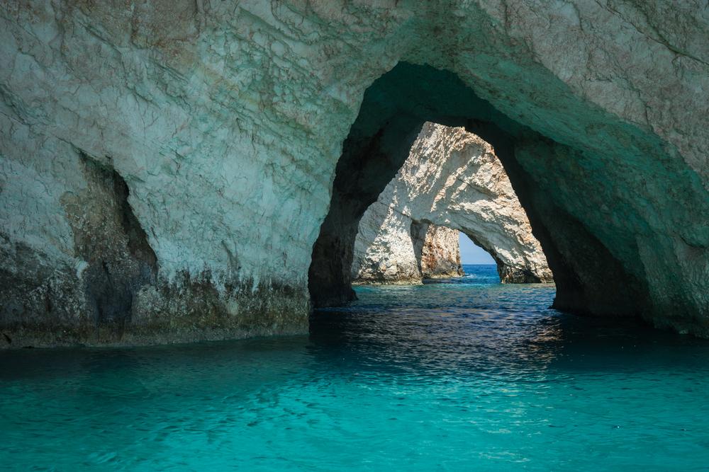 grecian cave