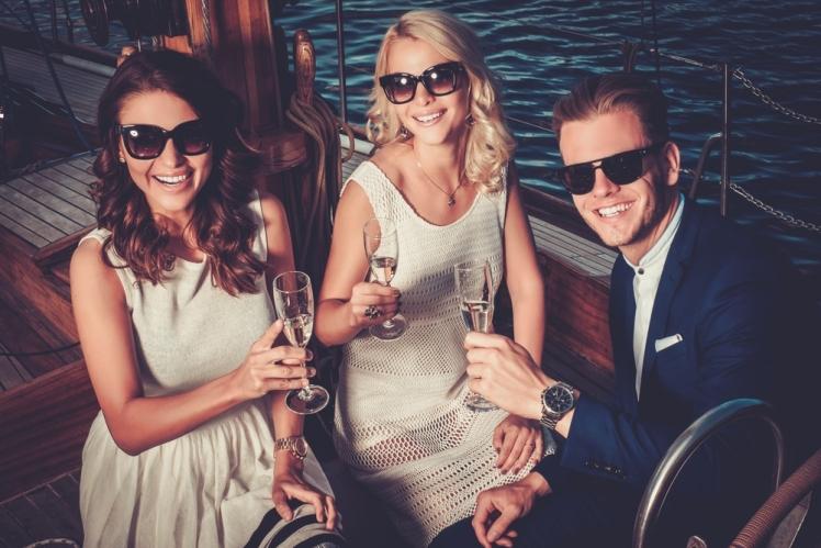 Party sail in Croatia