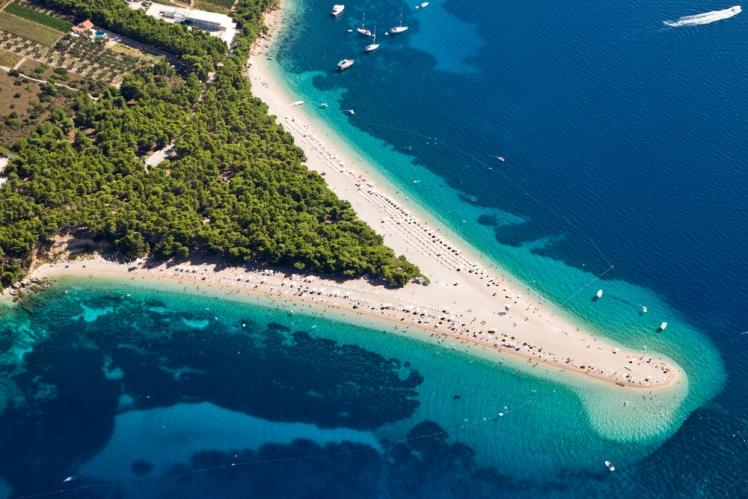 Zlatni Rat Beach, Brac, Croatia