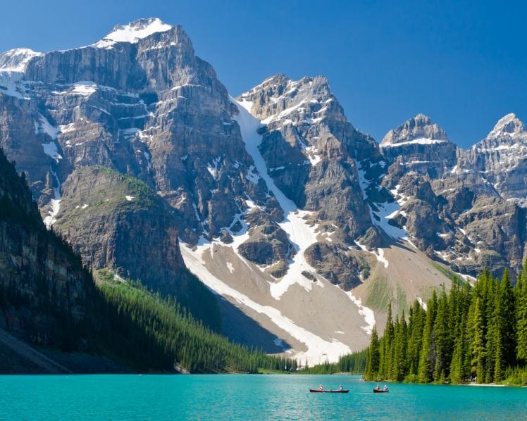 Banff and Lake Louise, Alberta