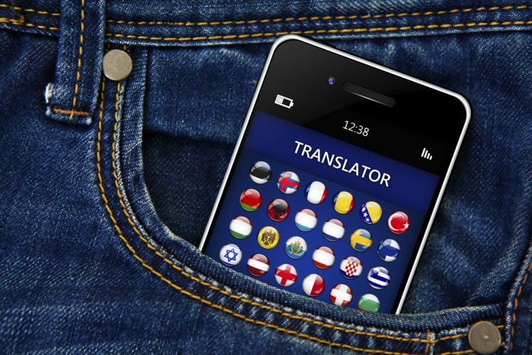 Use a translator app