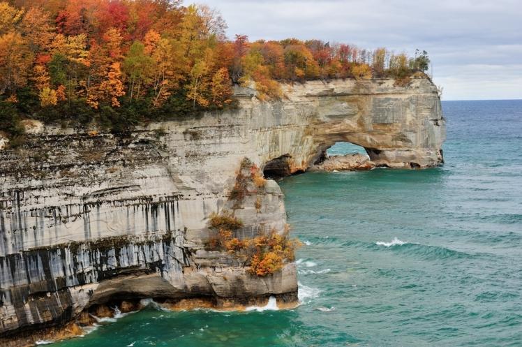 Pictured Rocks, Michigan