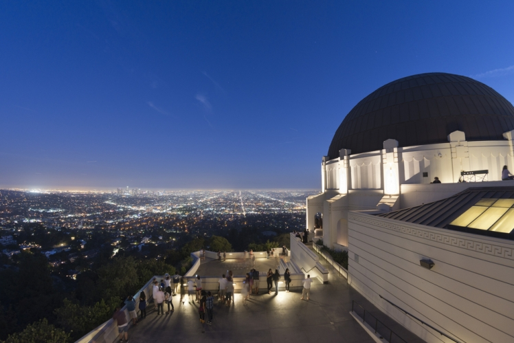 See Stars at the Griffith Observatory