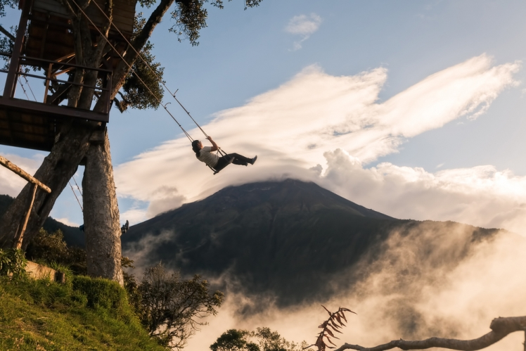 The Swing at the End of the World is Beautiful and Terrifying