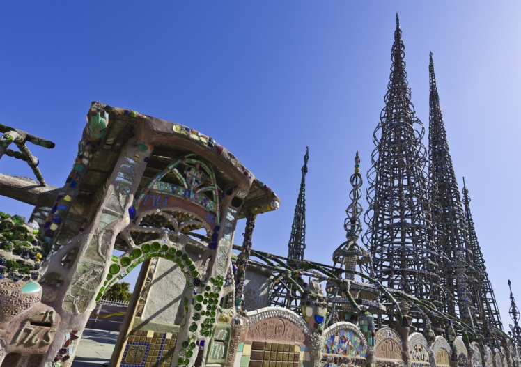 Visit the Watts Towers