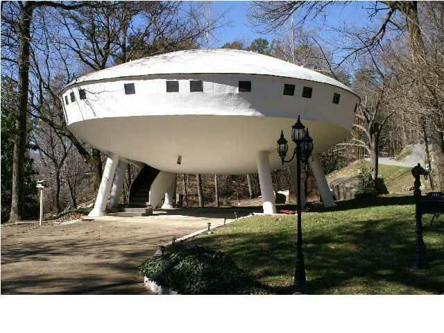 Spaceship House, Chattanooga, Tennessee, USA