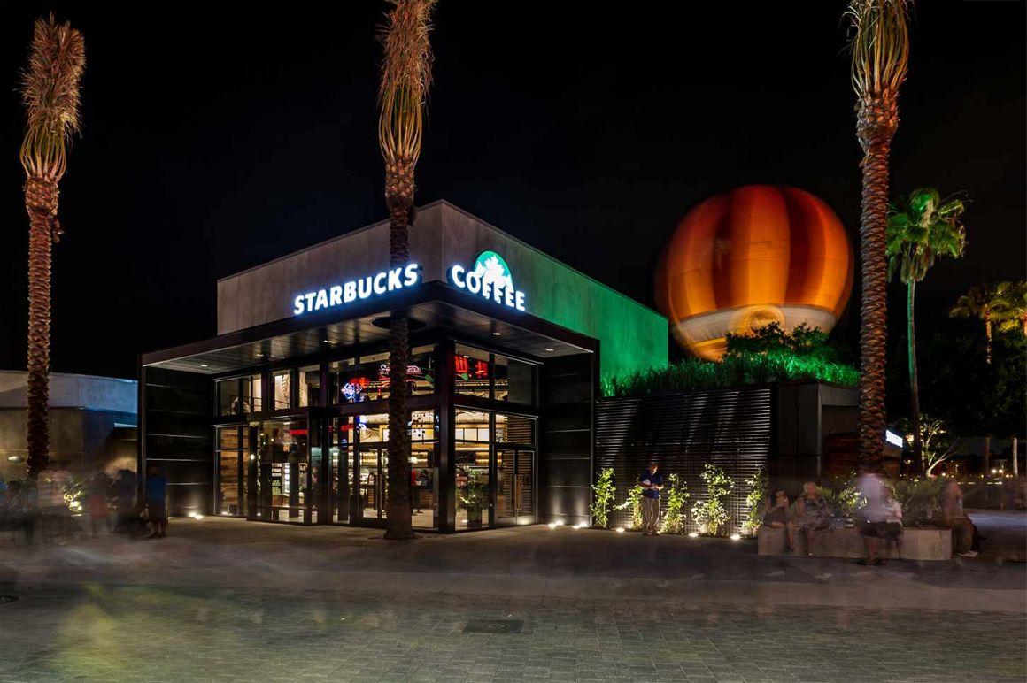 Starbucks at Disney World