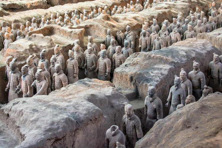 Tomb of the Qin Shi Huang, China
