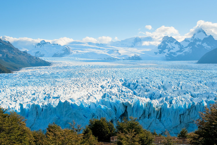 Glaciers in southern Argentina